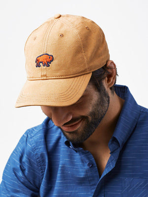 United by Blue Bisons Baseball Hat Khaki