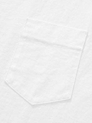 Lady White Co. Balta Pocket Tee White - MORE by Morello - Indonesia