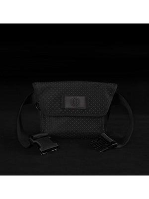 Life Behind Bars The Musette Eclipse Hip Pouch Black Reflective - MORE by Morello Indonesia