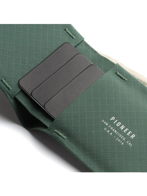 Pioneer The Flyfold Wallet 3PN Evergreen - MORE by Morello Indonesia