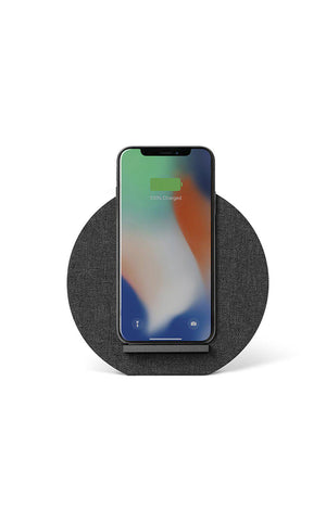 Native Union Dock Wireless Charger Fabric Slate