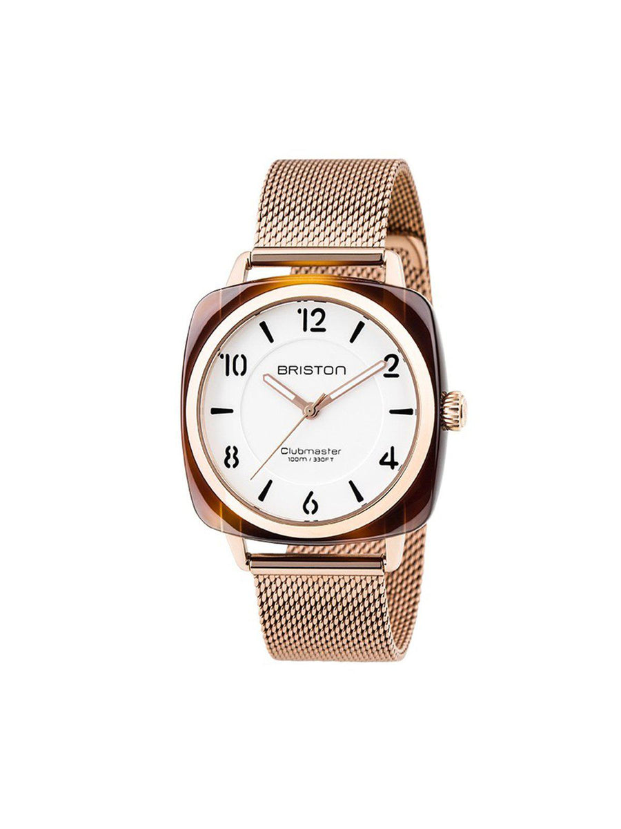 Briston Milanese Mesh Strap Rose Gold for Clubmaster Chic 18mm - MORE by Morello Indonesia