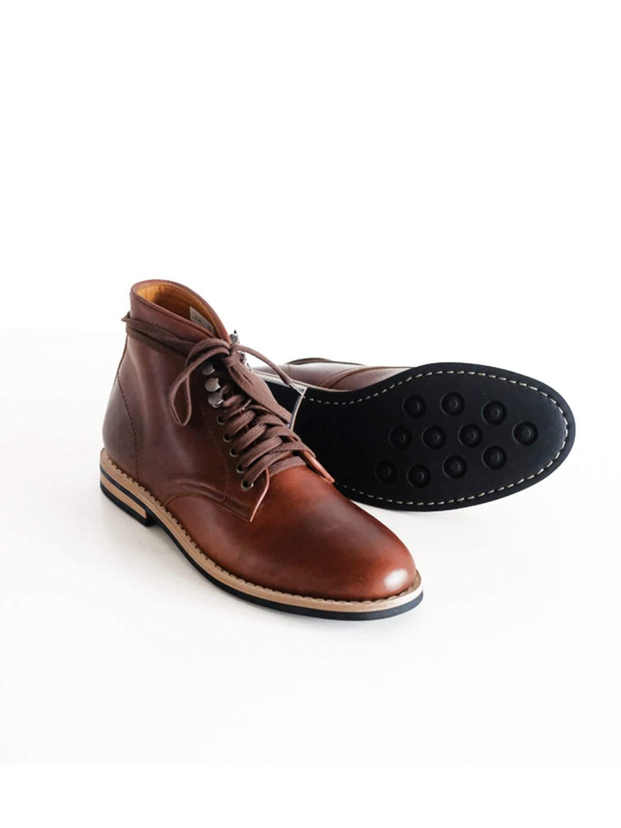 Chevalier Derby Boots Brown Chromexcel