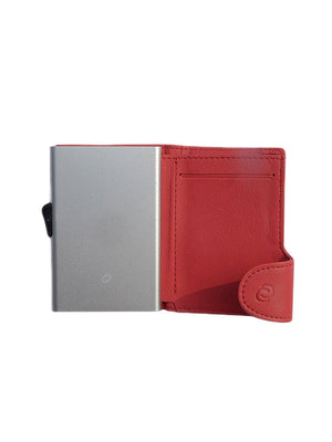 C-Secure Italian Leather RFID Wallet Rubino - MORE by Morello - Indonesia