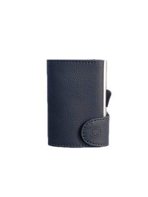 C-Secure PU Leather RFID Wallet Dark Grey - MORE by Morello Indonesia