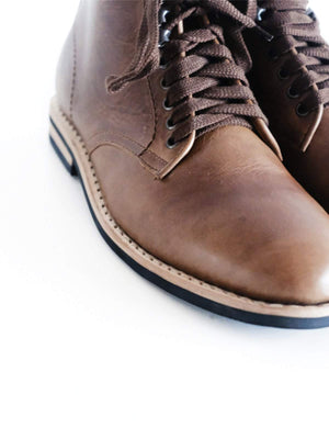 Chevalier Derby Boots Natural Chromexcel - MORE by Morello