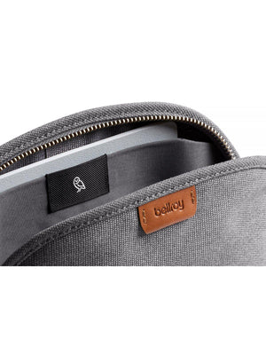 Bellroy Classic Pouch Woven Mid Grey - MORE by Morello Indonesia