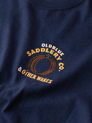 Oldblue Co. Tee The Saddlery Navy - MORE by Morello Indonesia