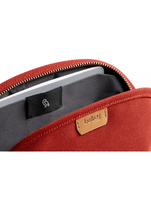 Bellroy Classic Pouch Woven Red Ochre - MORE by Morello Indonesia