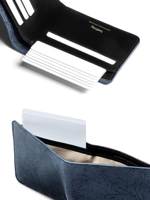 Bellroy Designers Edition Hide and Seek Wallet Galaxy Grey - MORE by Morello Indonesia