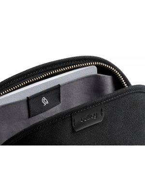 Bellroy Classic Pouch Woven Black - MORE by Morello Indonesia