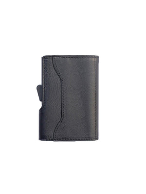 C-Secure Italian Leather RFID Wallet Nero - MORE by Morello Indonesia