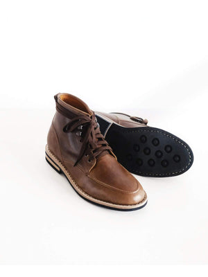 Chevalier Derby Moc Boots Natural Chromexcel - MORE by Morello