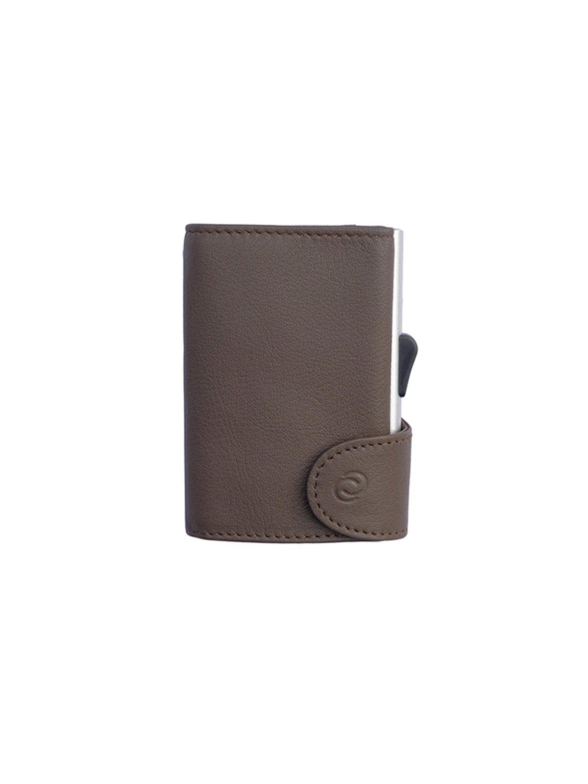 C-Secure Italian Leather RFID Wallet Castagno - MORE by Morello Indonesia 43dc1a4d4d