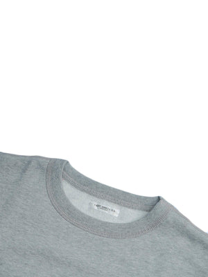 Lady White Co. Short Sleeve Crewneck Heather Grey - MORE by Morello Indonesia