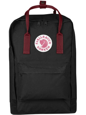 Fjallraven Kanken Laptop 15 Inch Black Ox Red - MORE by Morello Indonesia