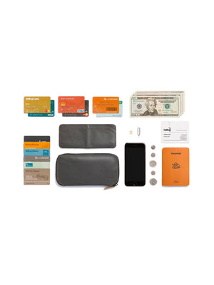 Bellroy Carry Out Wallet Charcoal Tan - MORE by Morello - Indonesia