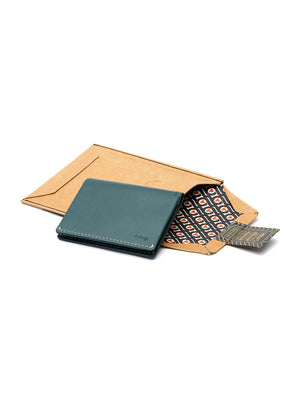 Bellroy Slim Sleeve Wallet Teal - MORE by Morello Indonesia