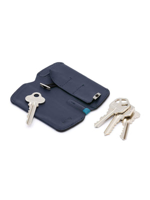 Bellroy Key Cover Plus Bluesteel - MORE by Morello