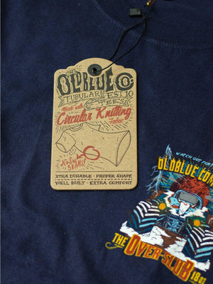 Oldblue Co. Tee The Slub Bumps Navy - MORE by Morello Indonesia