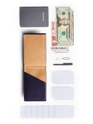 Bellroy Travel Wallet Navy RFID - MORE by Morello Indonesia