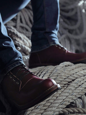 Heimdall Raider Boots Maroon - MORE by Morello Indonesia
