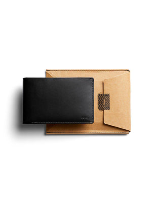 Bellroy Travel Wallet Black RFID - MORE by Morello - Indonesia