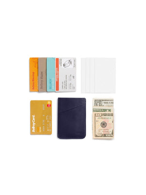 Bellroy Card Sleeve Navy - MORE by Morello - Indonesia