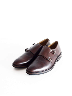 Chevalier Monkstrap Handpaint Brown