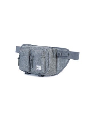 Herschel Eighteen Hip Pack 600D Poly Raven Crosshatch 6L - MORE by Morello - Indonesia