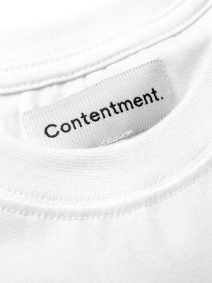 Contentment. Tranquil Monday Illustrated T-Shirt - MORE by Morello Indonesia