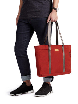 Bellroy Classic Tote Red Ochre - MORE by Morello Indonesia