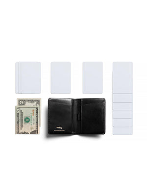 Bellroy Designers Edition Slim Sleeve Wallet Black - MORE by Morello Indonesia