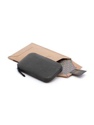 Bellroy All Conditions Phone Pocket Leather Charcoal - MORE by Morello Indonesia