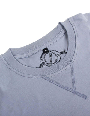 Jackhammer Basic Crewneck Tee Grey - MORE by Morello