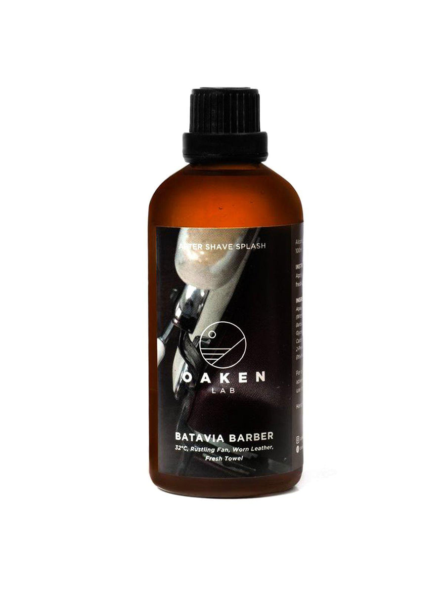 Oaken Lab Aftershave Splash Batavia Barber 100ml - MORE by Morello - Indonesia