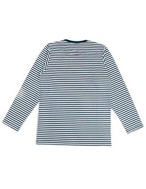 Jackhammer Beaver Striped Tee LS NW - MORE by Morello - Indonesia