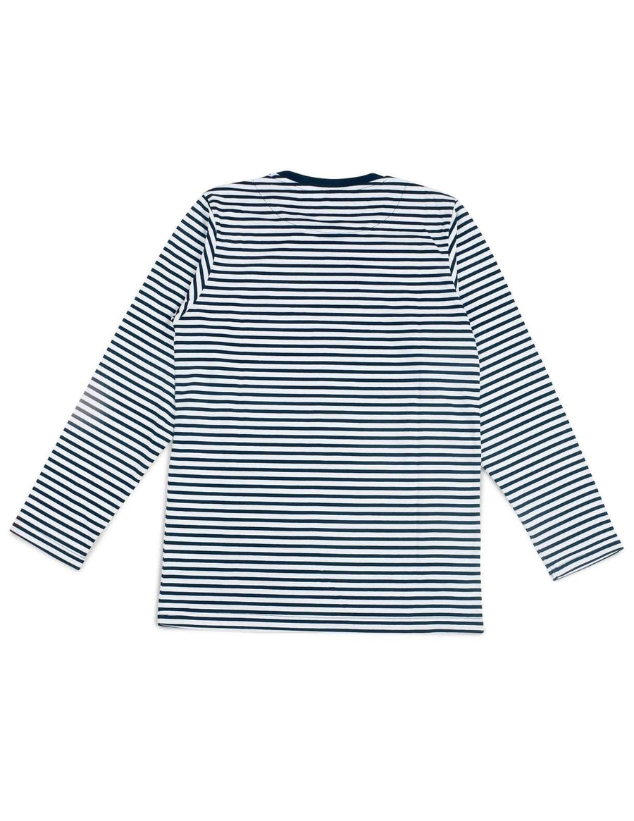 Jackhammer Beaver Striped Tee LS NW - MORE by Morello