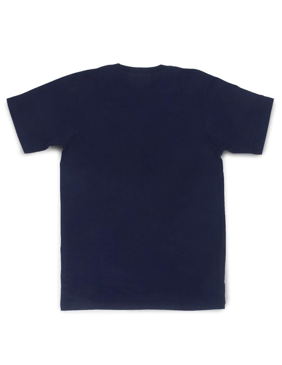 Jackhammer Beaver Pocket Tee Navy - MORE by Morello