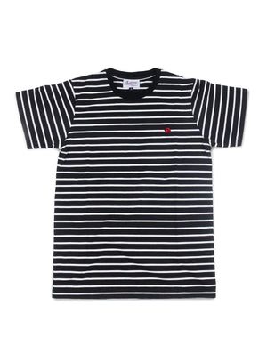 Jackhammer Beaver Striped Tee BW - MORE by Morello