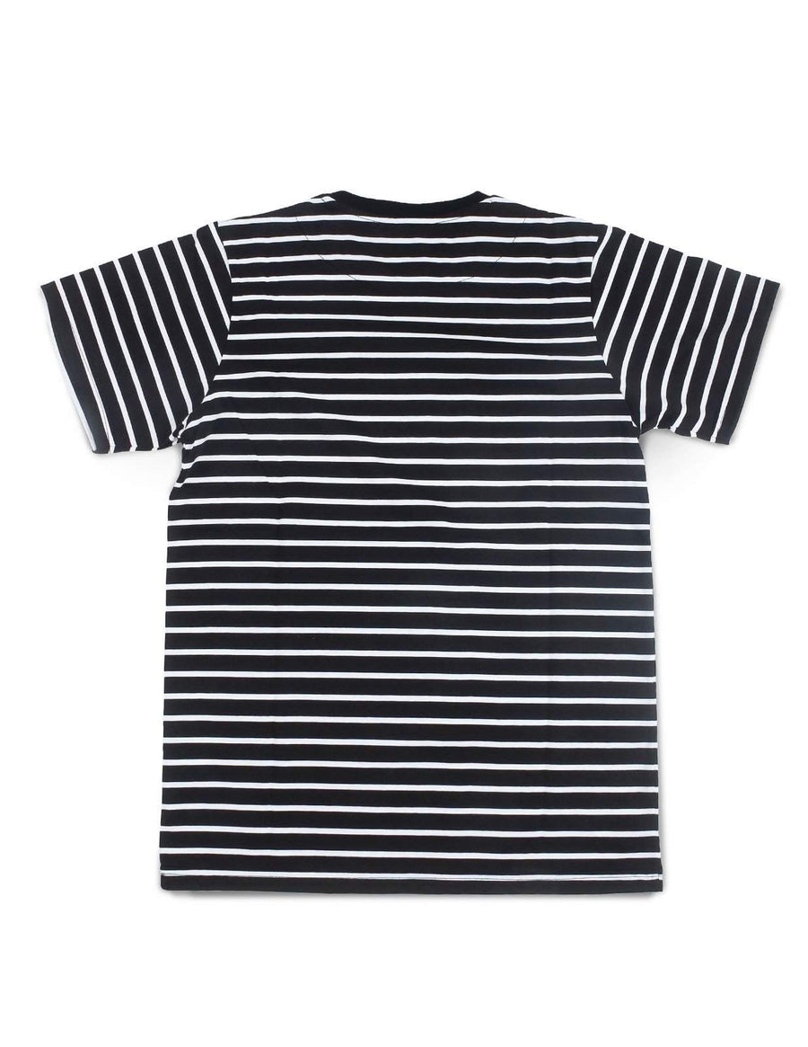 Jackhammer Beaver Striped Tee BW - MORE by Morello - Indonesia
