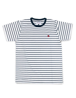 Jackhammer Beaver Striped Tee WB - MORE by Morello - Indonesia