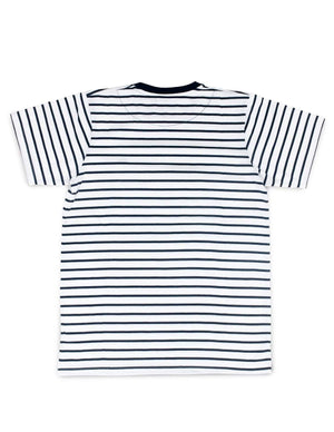 Jackhammer Beaver Striped Tee WB - MORE by Morello
