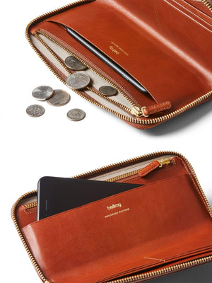 Bellroy Designers Edition Folio Wallet Burnt Sienna - MORE by Morello - Indonesia