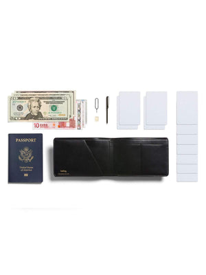 Bellroy Designers Edition Travel Wallet Black - MORE by Morello Indonesia