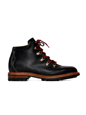 Oakstreet Bootmakers Black Commando Sole Summit Boot-Boots-Oakstreet Bootmakers-MORE by Morello