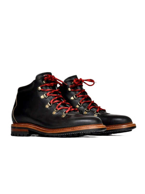 Oakstreet Bootmakers Black Commando Sole Summit Boot - MORE by Morello
