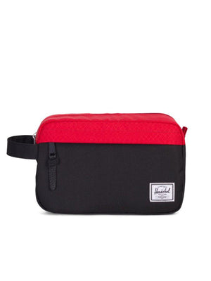 Herschel Chapter Travel Kit Black Scarlet 5L