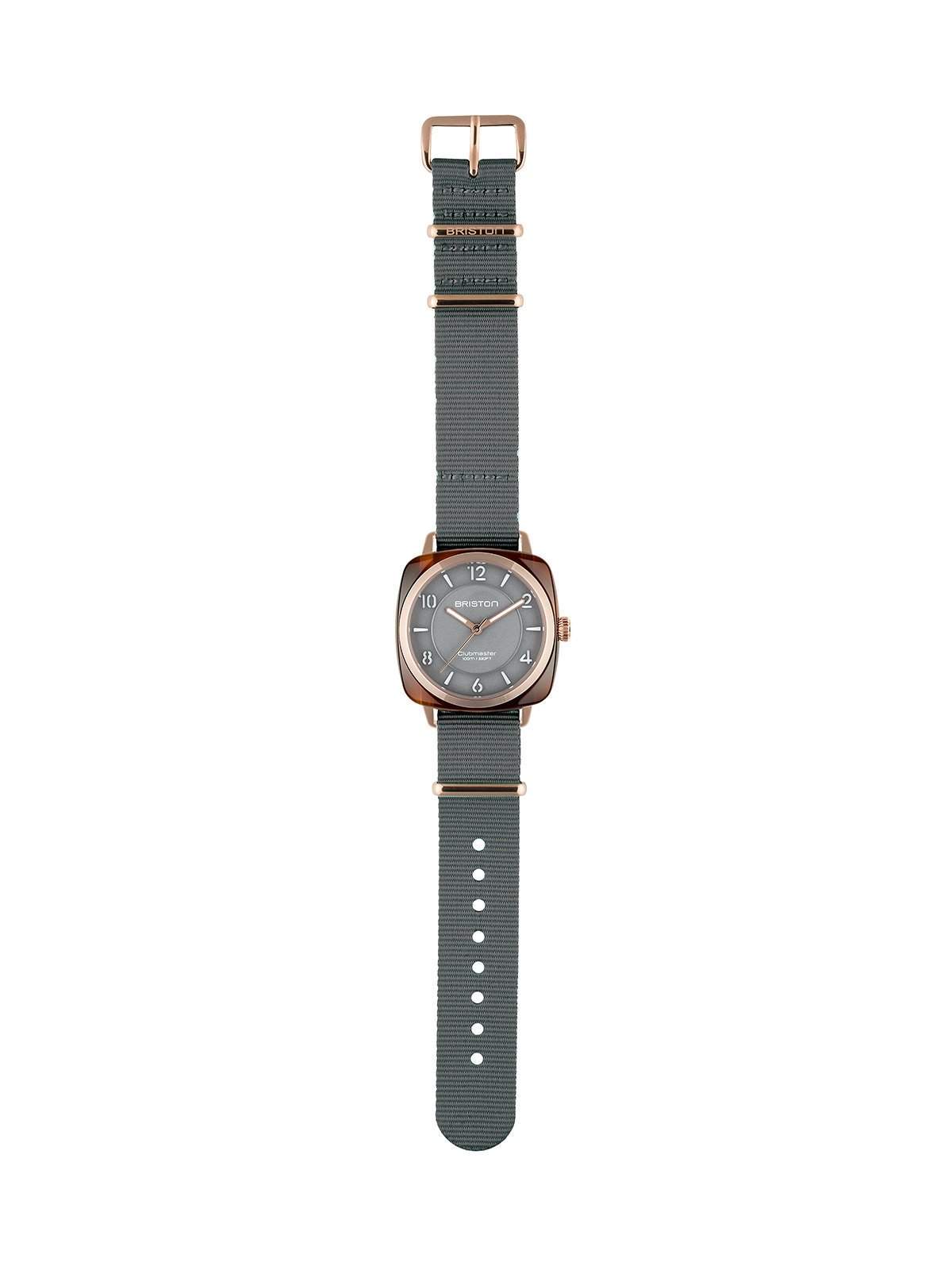 Briston Clubmaster Chic Acetate HMS Gold Grey Dial and Rose Gold 36mm - MORE by Morello Indonesia