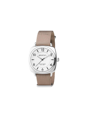 Briston Clubmaster Chic Steel HMS White Dial 36mm-Watches-Briston-MORE by Morello